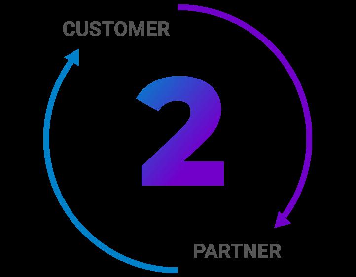 tpl digital customer to partner icon